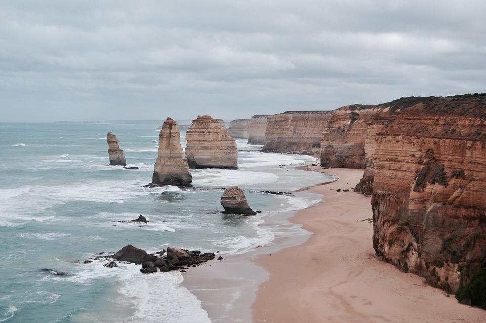 Un paysage d'Australie